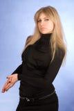 The seductive glamour girl Royalty Free Stock Image
