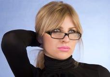 The seductive glamour girl Stock Image