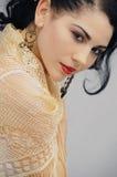 Seductive hispanic woman Stock Images