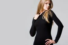 Seductive lady Stock Photo