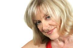 Seductive Older Woman Royalty Free Stock Photography