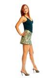 Seductive redhead girl Royalty Free Stock Photo