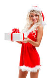 Seductive Santa Helper Stock Photography