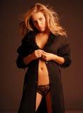 A seductive woman Stock Photography