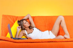 Seductive woman Royalty Free Stock Image