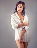 Seductive woman portrait Stock Photos