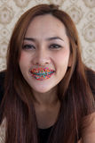 Seductive woman sweet mouth-29 Stock Photography