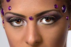 Seductive Womans Stare Stock Photo