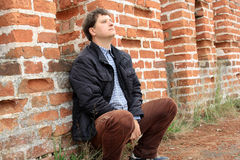 Seduta. Immagini Stock Libere da Diritti