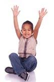 Seduta adorabile del bambino Fotografie Stock Libere da Diritti