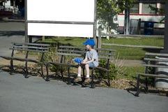 Seduta del bambino Fotografia Stock Libera da Diritti