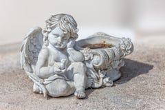 Seduta di angelo Fotografia Stock
