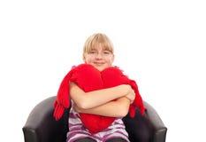 Seduta e la salute del cuore Fotografie Stock