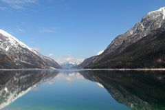 See Achen, Achensee See, Österreich Lizenzfreie Stockfotografie