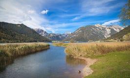 See Achensee in Tirol Lizenzfreie Stockfotos