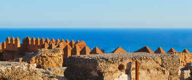 See from the Alcazaba Royalty Free Stock Images