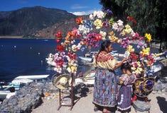 SEE ATITLAN LATEIN-AMERIKAS GUATEMALA Lizenzfreie Stockbilder