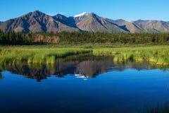 See auf Alaska Stockfotografie