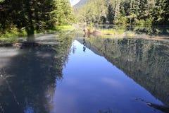 See auf dem Berg Lizenzfreies Stockbild