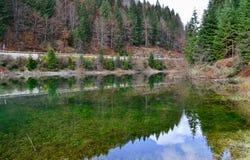 See auf dem Berg Lizenzfreie Stockbilder