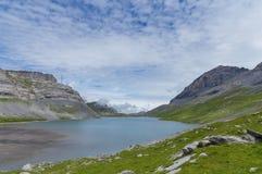 See auf Gemmipass Schweizer Stockfotografie