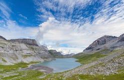 See auf Gemmipass switzerland Stockfoto