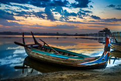 See auf Myanmar Stockfotografie