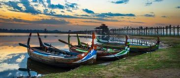 See auf Myanmar Lizenzfreie Stockfotografie