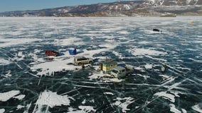 See Baikal im Winter stock footage