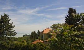 See Balaton Lizenzfreies Stockbild