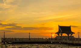 See a beautiful sunset Royalty Free Stock Images