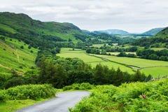 See-Bezirks-Nationalpark, Nord-England Stockbild