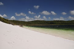 See Birrabeen - Fraser Insel, Australien lizenzfreies stockfoto