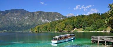 See Bohinj, Slowenien Lizenzfreies Stockbild