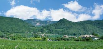 See Caldaro, Kalterer sehen, Süd-Tirol, Italien lizenzfreies stockfoto