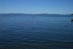 See Champlain von Vermont - blaues Wasser Lizenzfreie Stockfotografie