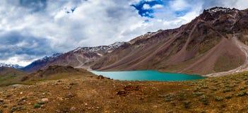 See Chandra Taal, Spiti Tal lizenzfreie stockfotografie