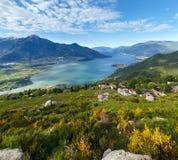See Como-Ansicht (Italien) Stockbild