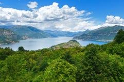 See Como-Ansicht (Italien) Stockfoto