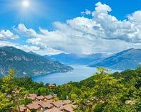 See Como Ansicht (Italien) Stockfoto