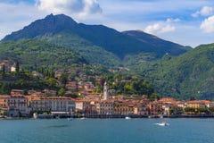 See Como, Menaggio, Lombardia, Italien Lizenzfreie Stockfotos