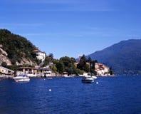 See Como, Ner Rezzonico, Italien. Stockbild