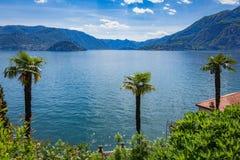 See Como, Varenna, Lombardia, Italien Lizenzfreie Stockfotografie