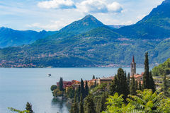 See Como, Varenna, Lombardia, Italien Lizenzfreies Stockbild