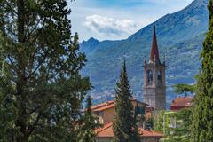 See Como, Varenna, Lombardia, Italien Stockfotos