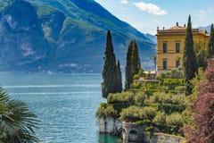 See Como, Varenna, Lombardia, Italien Lizenzfreies Stockfoto