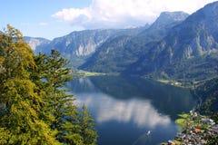 See in den Bergen, Österreich lizenzfreie stockfotos