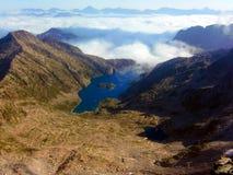 See in den Bergen von Besiberri-Gebirgsmassiv Lizenzfreies Stockbild