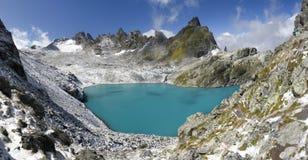 See in der Schweiz - Wildsee Lizenzfreie Stockfotografie