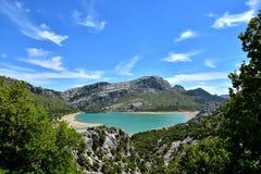 See in der Sierra De Tramuntana Lizenzfreie Stockfotografie